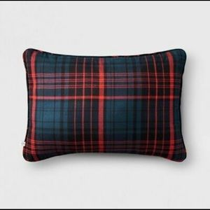 Magnolia Hearth & Hand Holiday Plaid Throw Pillow